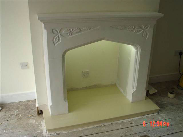Plaster Fire Surrounds and marble backs and hearths from ...
