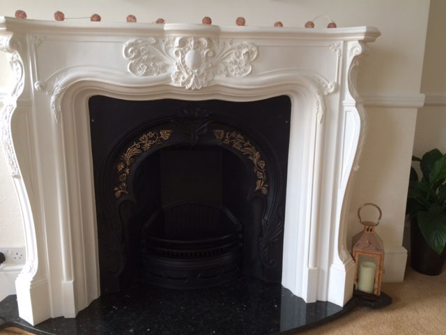 french rococo fireplace plaster fire surrounds and marble backs and hearths from plasterwrx