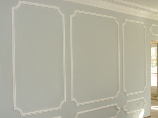 Plaster panel moulds