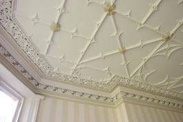 Photo of a Jacobean Ceilling in West Yorkshire following full restoration