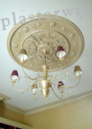 Shakespeare custom built large ceiling rose