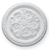 enlargement of CC36 Large Sunflower Ceiling Rose