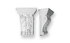 CL2 Large Ornate Scroll Corbel
