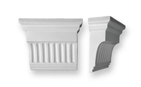 CL6 Large Fluted Corbel