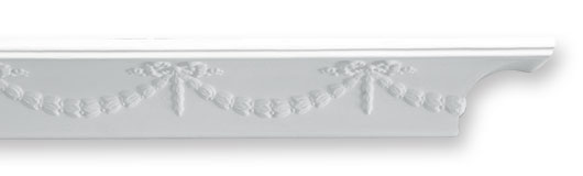 CO16 Bows Plaster Cornice