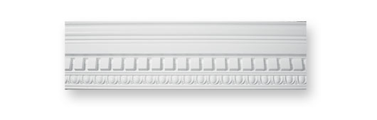 CO21 Egg and Dart Dentil Plaster Cornice
