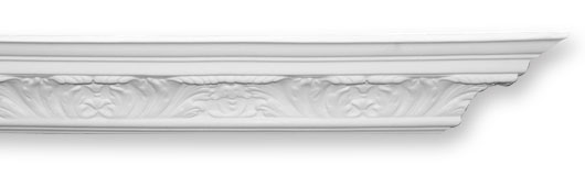 CO22 Small Acanthus Leaf Plaster Cornice