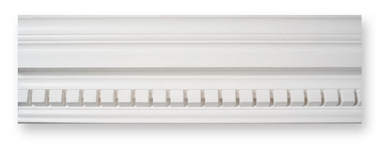 CO28 Grand Dentil Drip Plaster Cornice