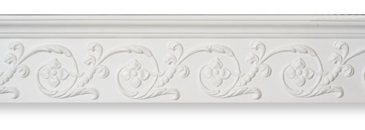 CO30 Floral Frieze Plaster Cornice