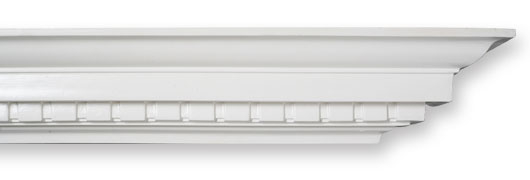 CO38 Large Dentil Plaster Cornice