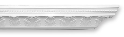CO39 Waterleaf & Bead Plaster Cornice