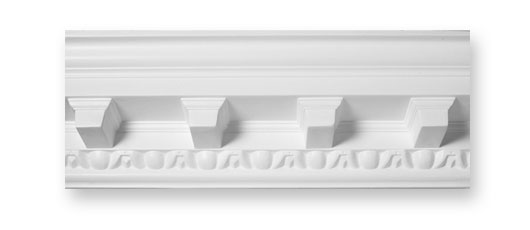 CO45 Simple Modillion Plaster Cornice