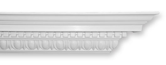 CO55 Large Ornate Egg & Dart Plaster Cornice