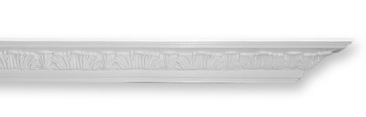 CO63 Leaf Easy Fit Plaster Cornice