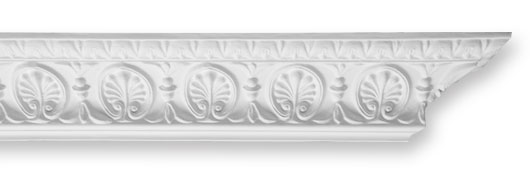 CO66 Ornate Honeysuckle Plaster Cornice