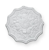 enlargement of CC59 Small Fruit Ceiling Rose