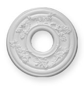 enlargement of CC61 Forest 150mm Opening Ceiling Rose