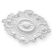 enlargement of CC11 Small Floral Rope Ceiling Rose