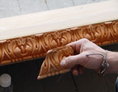 Restoration of a 16th Century fireplace